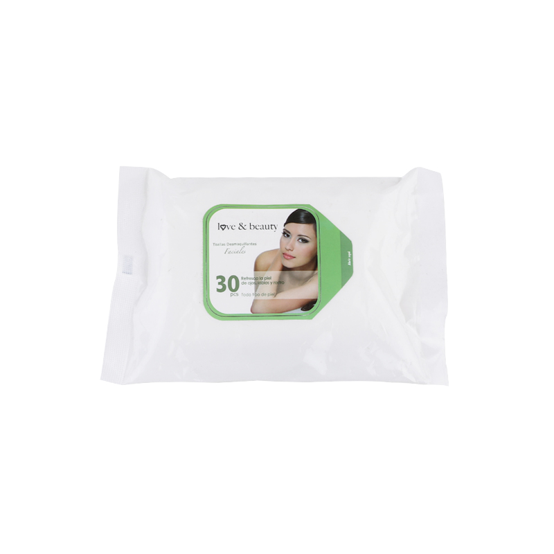 Easy to extract, customizable disposable makeup wipes
