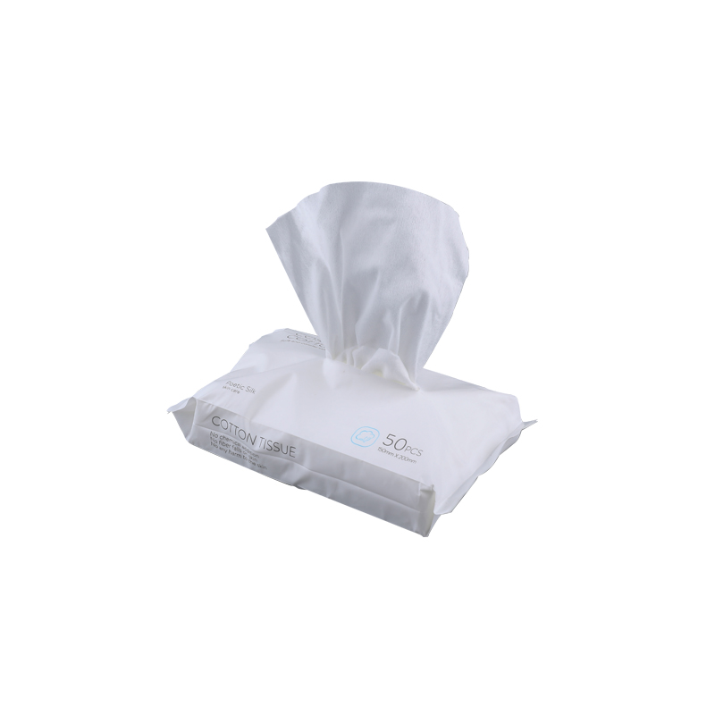 Skin-friendly cotton wipes removable disposable face towel travel wet and dry can be customized