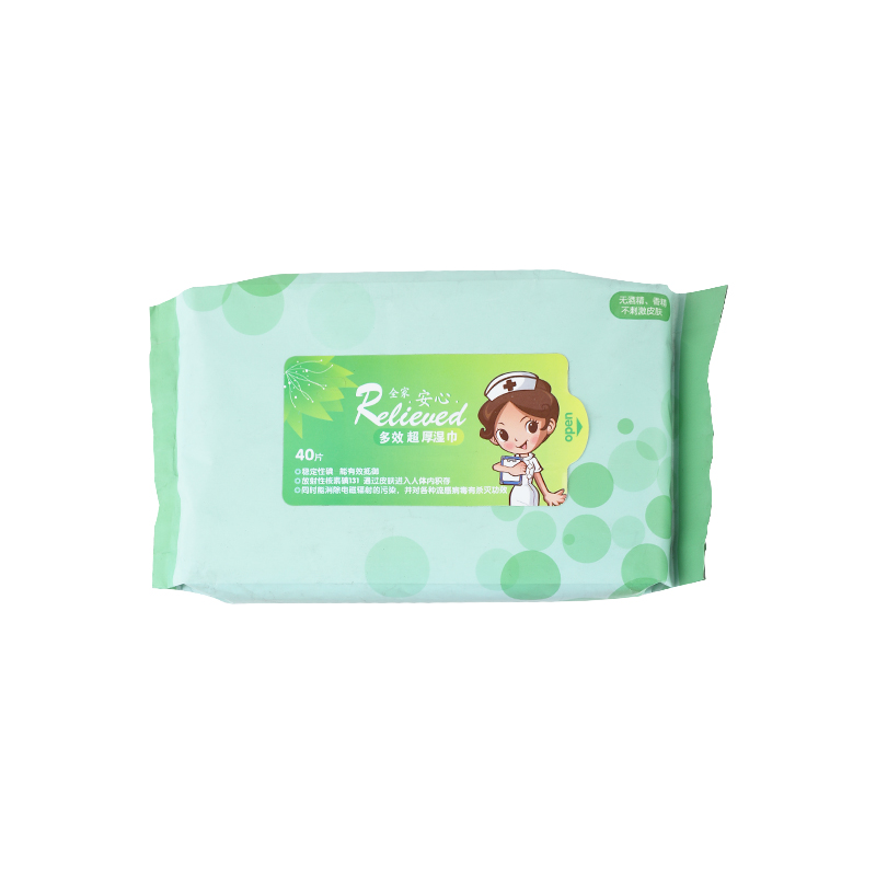 Disposable women's makeup remover wipes