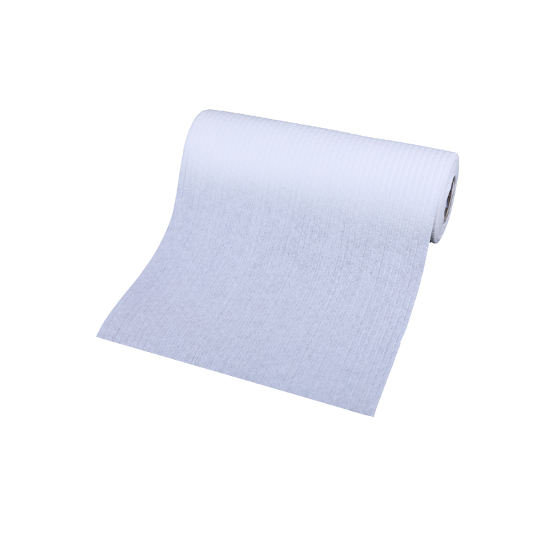 Custom wholesale disposable kitchen dishwashing clean white rag